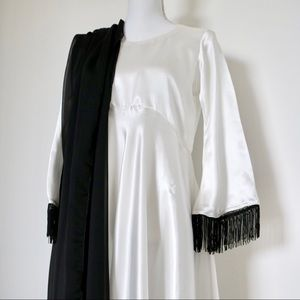 3-piece pakistani silk satin designer outfit